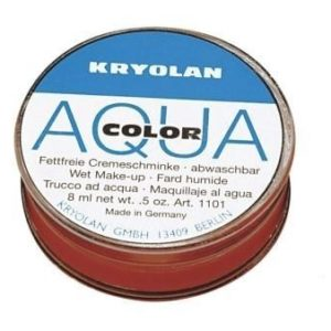 Aquacolor Can 8ml Kryolan