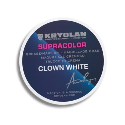 Supracolor clown white highly pigmented 30g cryolan