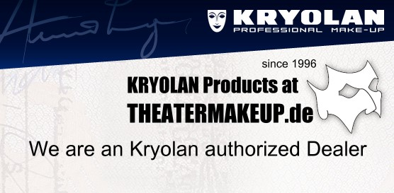 Kryolan Makeup - We are authorized dealer
